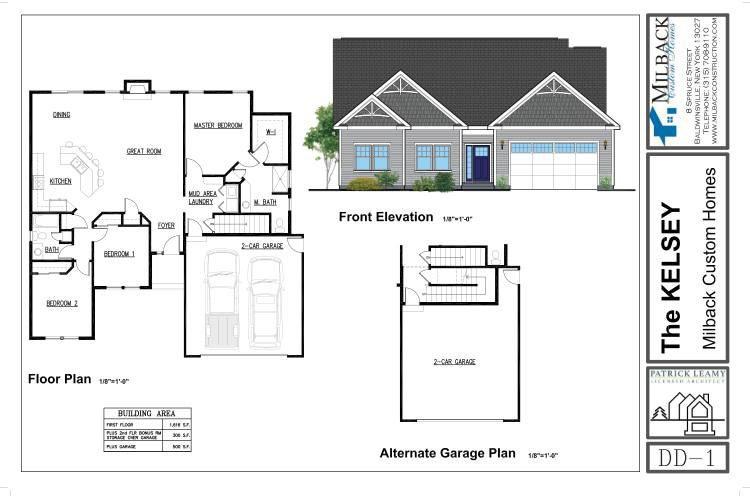 The Kelsey Custom Home Plans